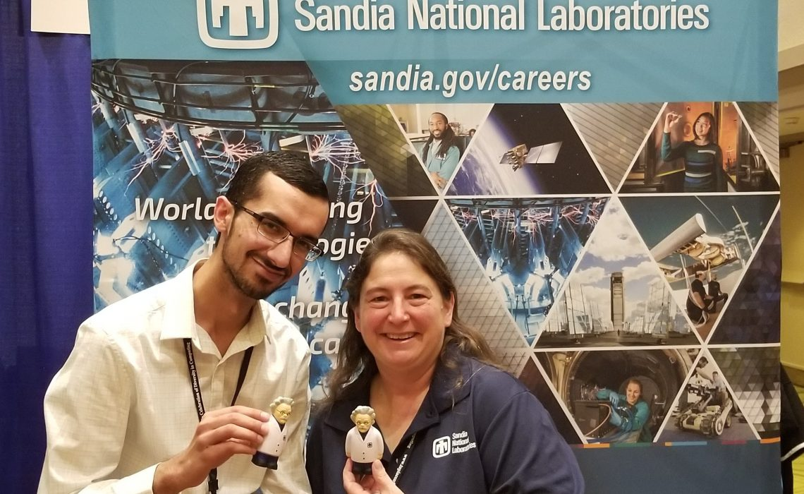 Meet Janice Smith, manager at Sandia National Laboratories and a former CCBC student