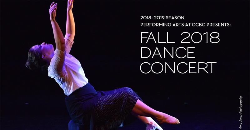 Fall 2018 Dance Concert Program Details « CCBC Performing Arts